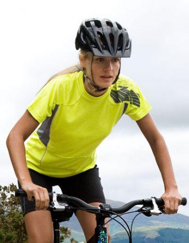 Fahrrad-Trikot Spiro-T für Damen - kurzarm