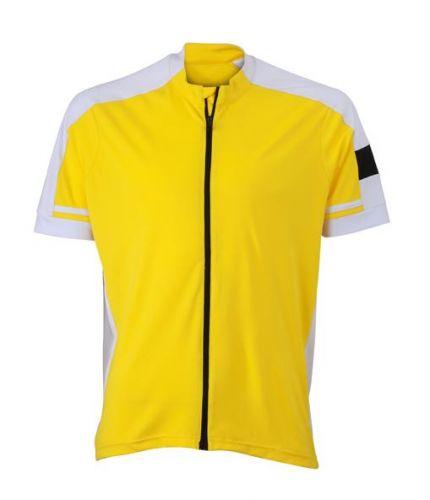 Fahrrad-Trikot Full-Zip für Herren - kurzarm