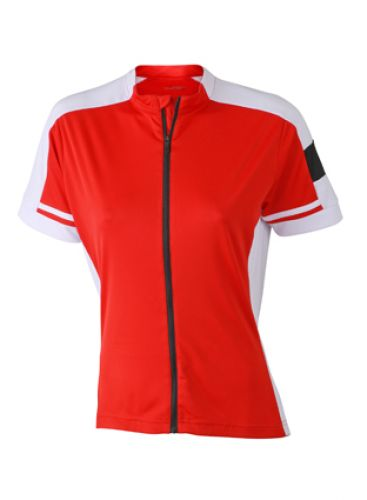 Fahrrad-Trikot Full-Zip für Damen - kurzarm