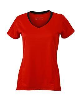 Lauf-Shirt in leuchtenden Farben für Damen