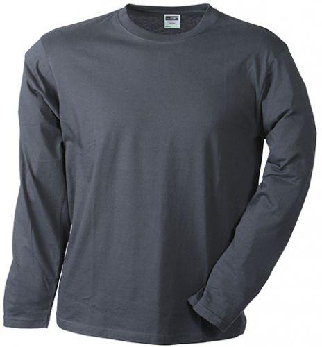 Langarm T-Shirt mit Rundhalsausschnitt (unisex)