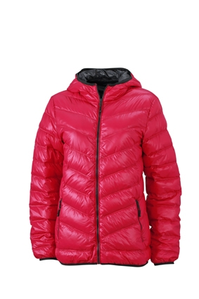 premium selection bcf59 8b303 Dünne Daunenjacke für Damen mit Kapuze in sportlichem Style