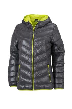 premium selection e10d2 13912 Dünne Daunenjacke für Damen mit Kapuze in sportlichem Style