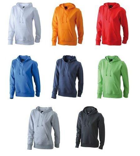 Vereins Sweatshirt mit Kapuze für Damen
