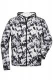 Leichte Sport- und Fitness-Jacke für Herren aus Recycled-Polyester